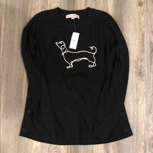 Loft dachshund sweater